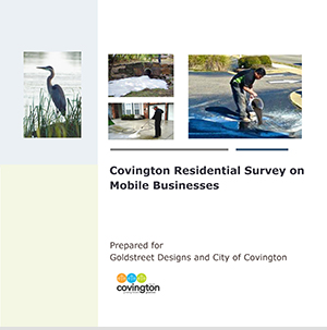 Residential survey on mobile businesses report (Click to View)