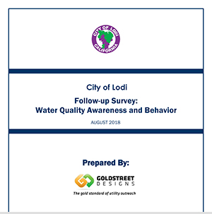 Water quality awareness and behavior survey report 2018 (Click to View)