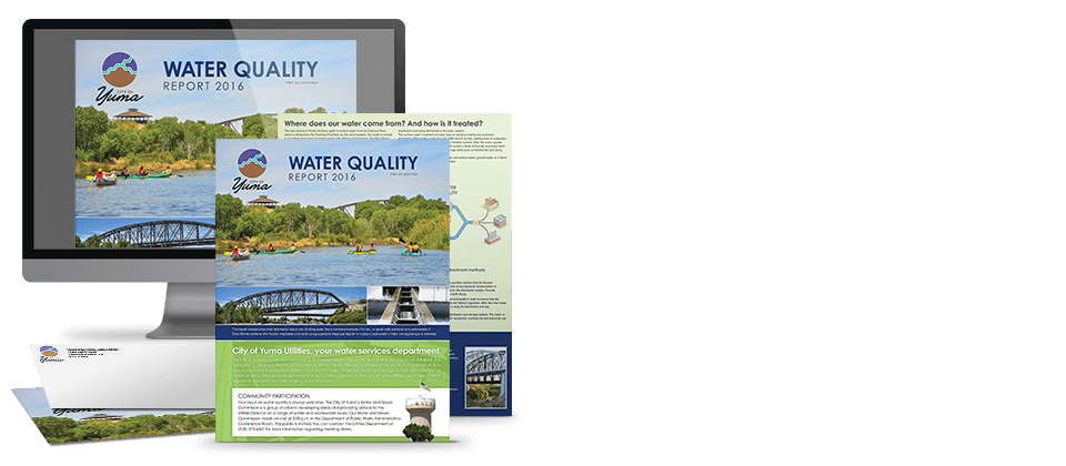 Water Quality Report Collage