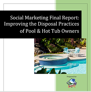Improving disposal practices of pool and hot tub owners report (Click to View)