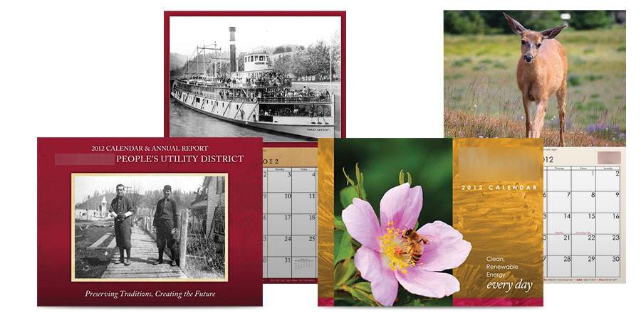Public Awareness Campaign - Public Outreach Materials - Utility and Municipality Calendars