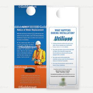 Advanced Metering Infrastructure Door Hanger Notification