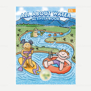 All About Water Kids Activity Book Wastewater Conservation Stormwater Grades 4 - 6