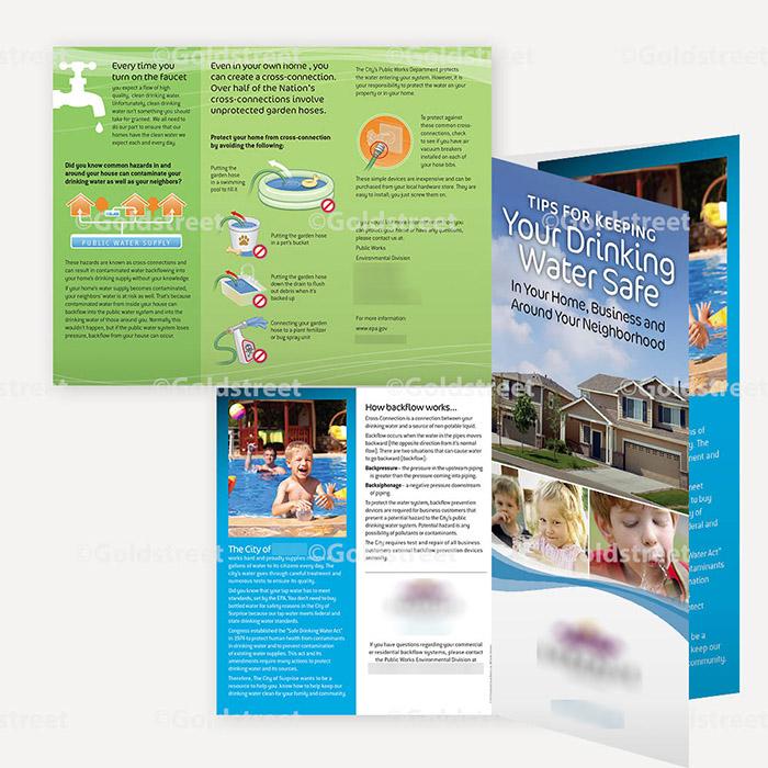 Backflow Trifold Brochure