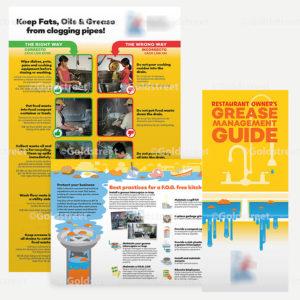 Public Outreach - Public Awareness - Commercial FOG Brochure