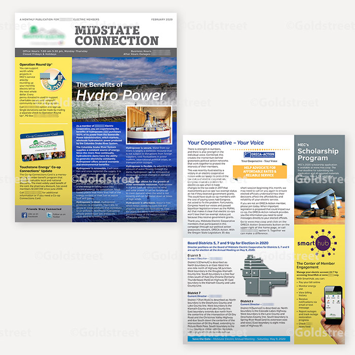 Sample Newsletter for a Utility