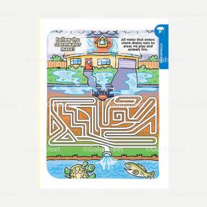 Public Outreach - Public Awareness - Kids activity stormwater maze
