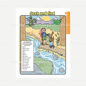 Public Outreach - Public Awareness - Kids Stormwater Seek and Find Activity