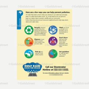 Public Outreach - Public Awareness - Childrens Education For Preventing Stormwater Pollution