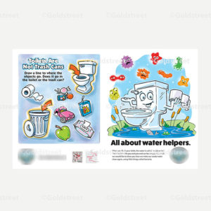 Public Outreach - Public Awareness - Toilet Trash Kids Workbook