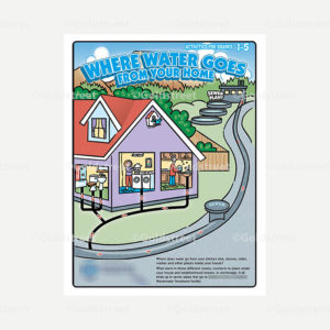 Public Outreach - Public Awareness - Kids Wastewater Activity Booklet Cover