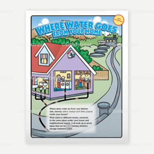 Public Outreach - Public Awareness - Wastewater Kids Activity Book Cover