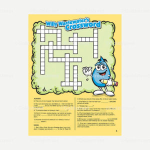 Public Outreach - Public Awareness - Wastewater Kids Crossword 1-6