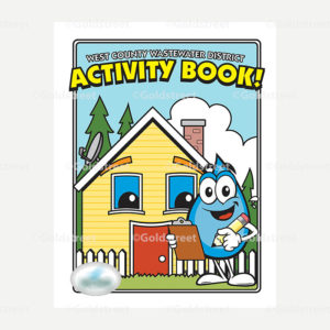 Public Outreach - Public Awareness - Wastewater Activity Book Cover