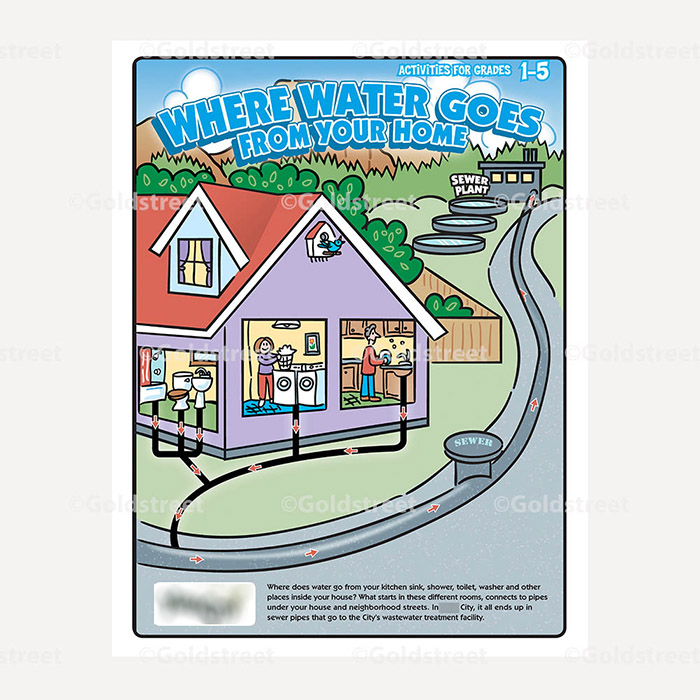 Public Outreach - Public Awareness - Wastewater Activity Booklet Grade 1-5