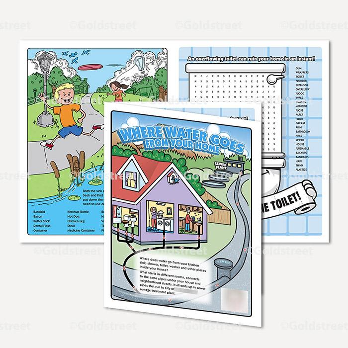 Public Outreach - Public Awareness - Wastewater Kids Grade 4-6