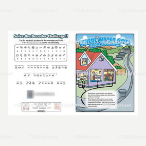 Public Outreach - Public Awareness - Wastewater Kids Grade 4-6 booklet