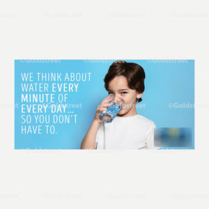 Public Outreach - Public Awareness - We Think About Water Ever Minute of Every Day Snackable