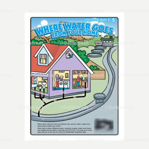 Public Outreach - Public Awareness - Where Water Goes From Home Kids Grade 1-5 Book Cover