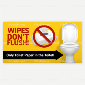 Public Service Announcement Flushable Wipes can Cost You Only Toilet Paper in the Toilet Snackable
