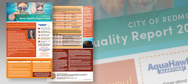 Water Quality Report material promo for blog article