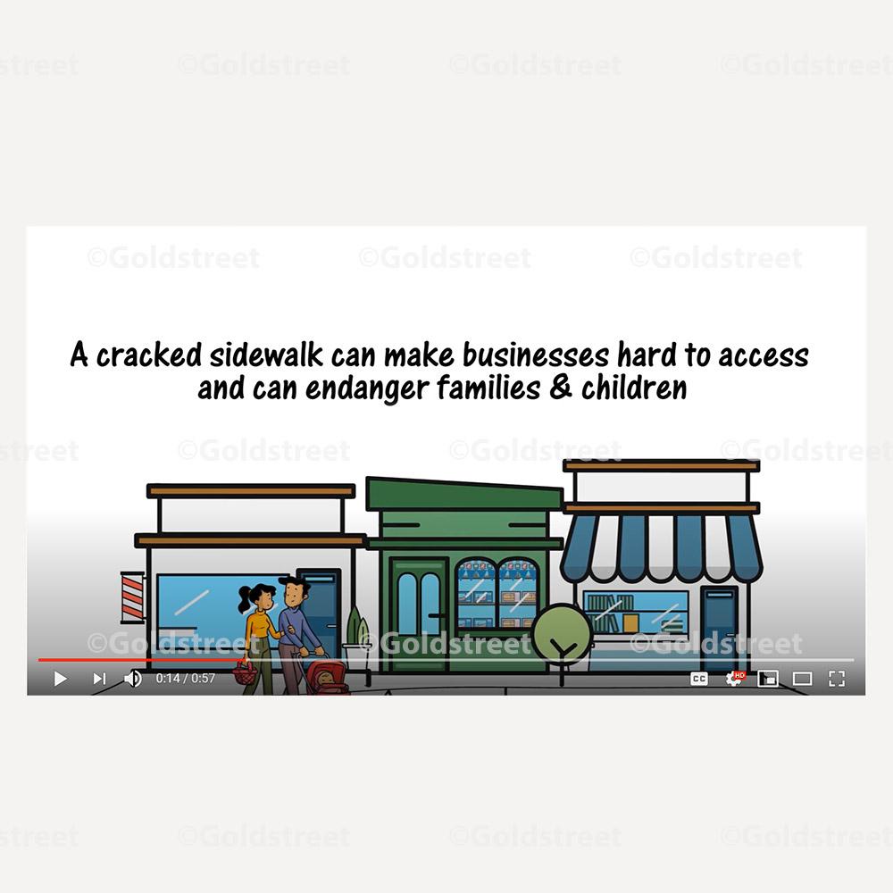 Sidewalk Fix Video For Municipalities