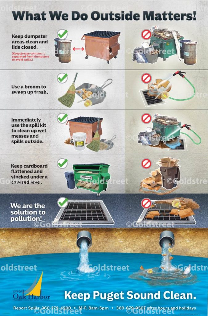 Wastewater Pollution Infographic